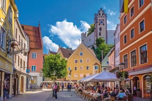 Hohes Schloss in Füssen im Allgäu