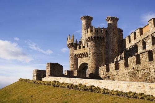 Templar Burg in Ponferrada.