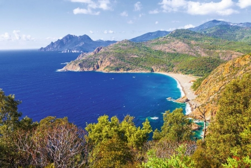 atemberaubende ladscapes von Korsika