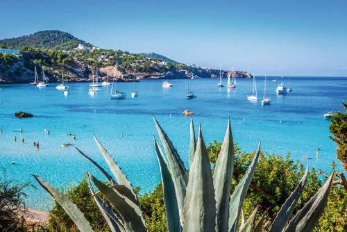 Strand Cala Tarida nahe San Jose auf Ibiza