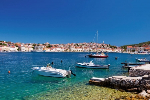 Mali Lošinj auf der kroatischen Insel Lošinj in der Kvarner Bucht