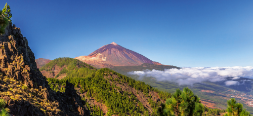 Panorama des Teide und Orotava-Tal