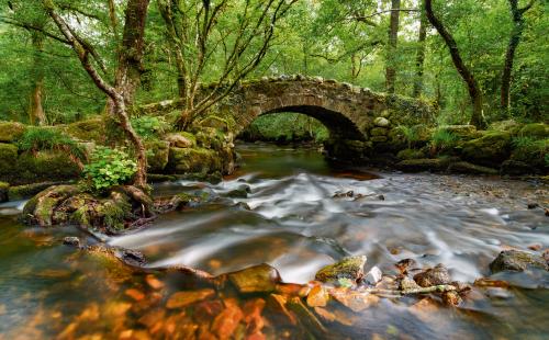 Dartmoor-Brücke