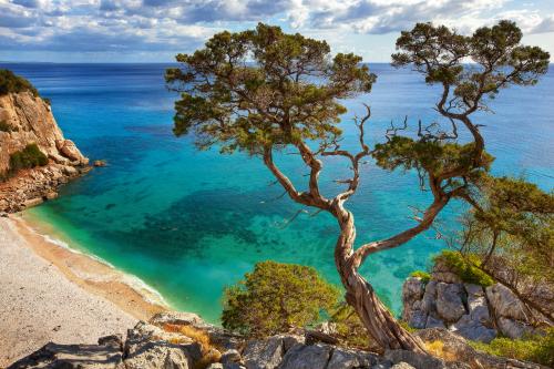 Costa Smeralda auf der italienischen Insel Sardinien