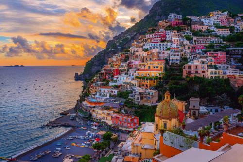 Positano,Amalfiküste,Italien