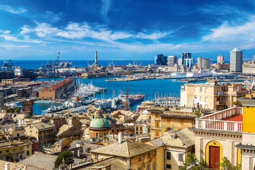 Hafen von Genua,Italien,Ligurien