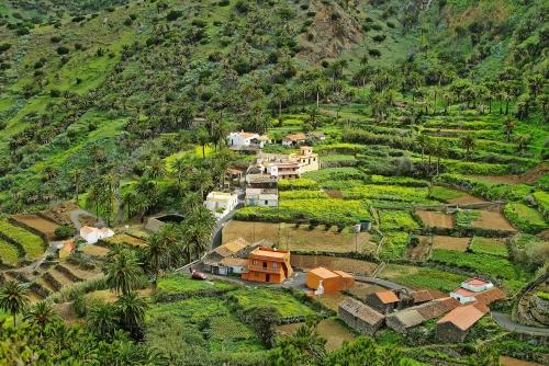 Das Valle Gran Rey auf der Insel La Gomera
