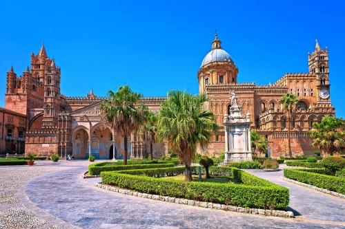 Kathedrale von Palermo auf Sizilien, Italien