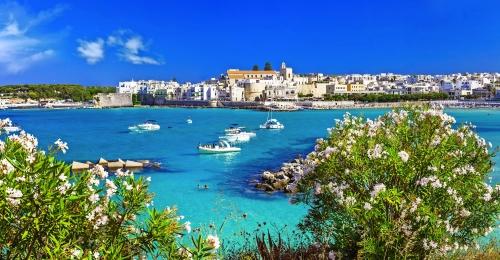 Urlaub in Italien - Otranto in Apulien mit cristal Wasser