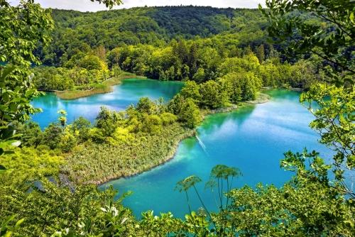 Nationalpark Plitvicer Seen in Dalmatien, Kroatien