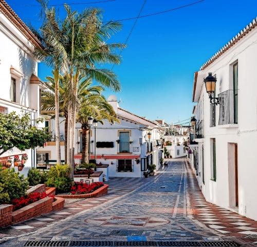 Benalmádena an der Costa del Sol in Andalusien, Spanien