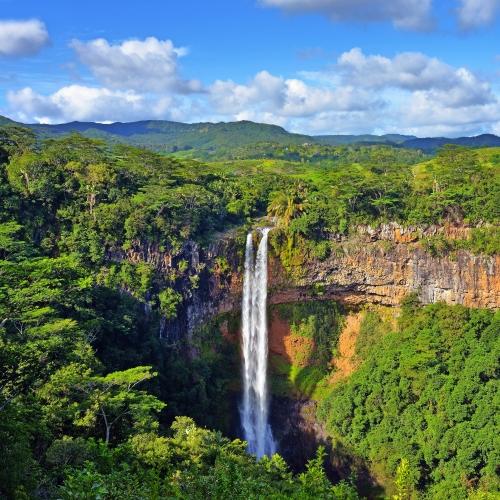 Chamarel-Wasserfälle
