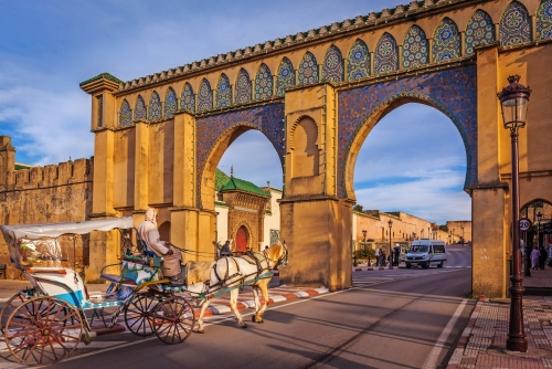 Bab Moulay Ismail, Meknes