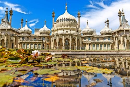 Brighton im Sommer, England