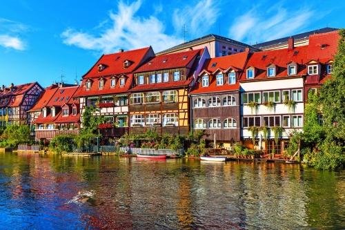 Altstadt in Bamberg, Deutschland