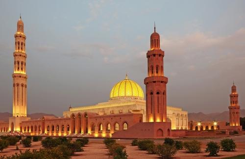Sultan-Qabus-Moschee in Muscat, Oman