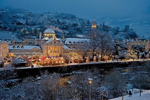 Weihnachtsmarkt in Meran, Italien