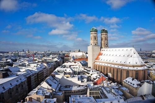 winterliches München