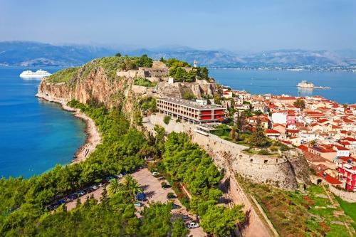 Nafplio Luftbild, Griechenland