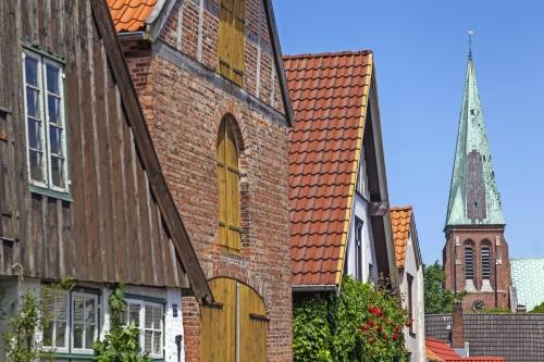 Dom in Meldorf, Dithmarschen,Schleswig-Holstein,Deutschland