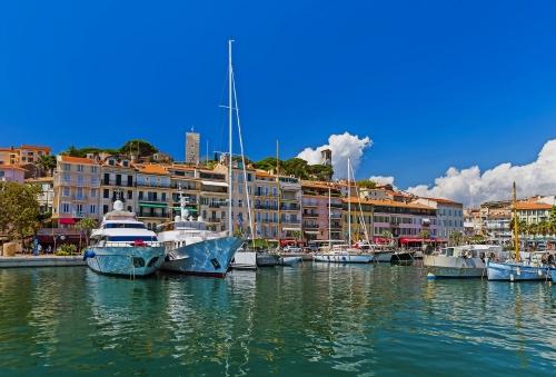 Cannes an der französischen Riviera