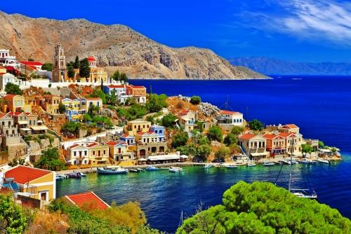 griechische Insel Symi