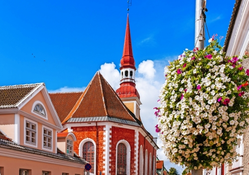 St.-Elisabeths-lutherische Kirche in Parnu, Estland