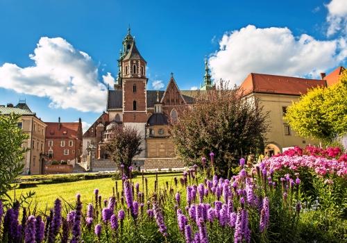 Wawel-Kathedrale in Krakau, Polen