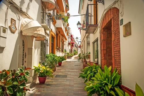 Straßen von Marbella