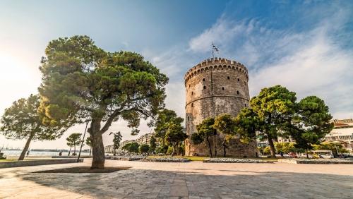 Weißer Turm von Thessaloniki, Griechenland