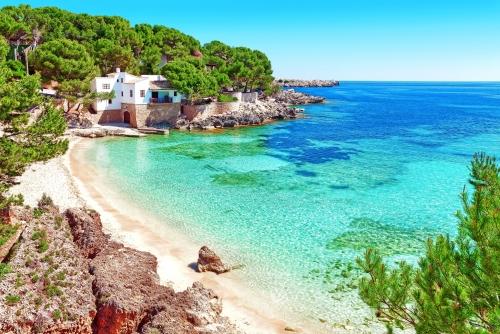 Badebucht Cala Gat auf Mallorca