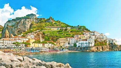 Amalfi an der Amalfiküste, Italien