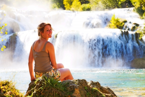Nationalpark Krka in Dalmatien, Kroatien