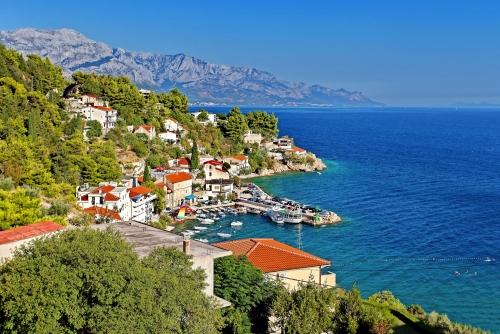 Adriatisches Meer - Makarska Riviera (kleine Stadt in der Nähe von Makarska), Dalmatien, Kroatien