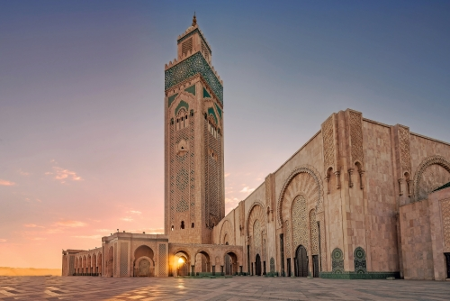 Casablanca Moschee von Hassan 2