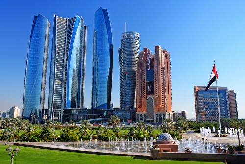 Wolkenkratzer von Abu-Dhabi