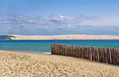 Cap Ferret Strand, Blick auf die Pilat-Düne
