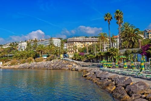 Mittelmeerküste in San Remo