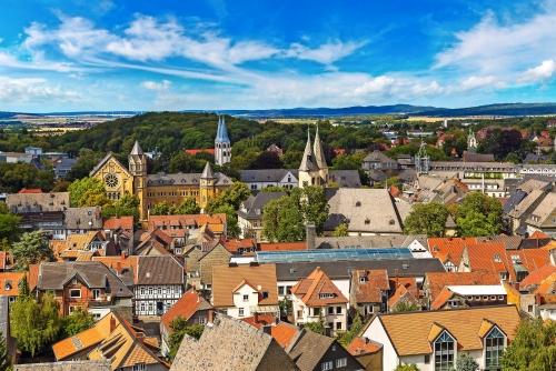 Panoramablick von Goslar, Deutschland